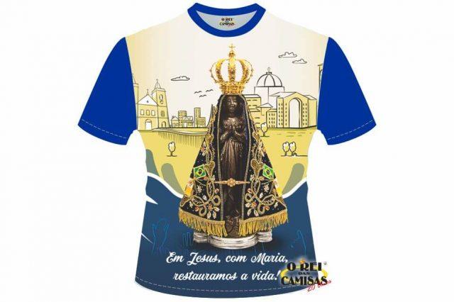 Nossa Senhora Aparecida Para Camisa: CAMISA NOVENA NOSSA SENHORA APARECIDA